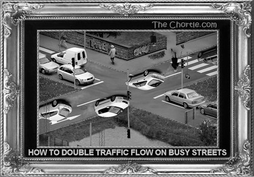 How to double traffic flow on busy streets