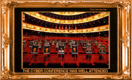 The cyber conference was well attended