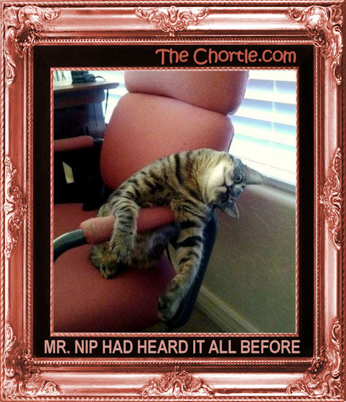 Mr. Nip had heard it all before.