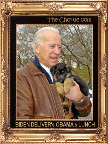 Biden delivers Obama's lunch