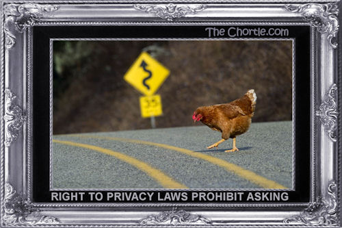 Right to privacy laws prohibit asking