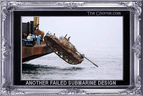 Another failed submarine design