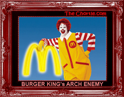 Burger King's arch enemy