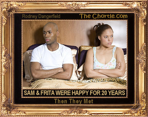 Sam & Frita were happy for 20 years. Then they met.