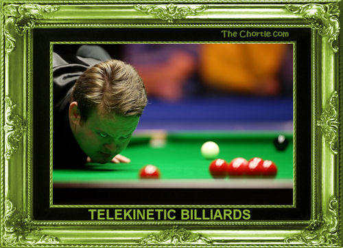 Telekinetic billiards