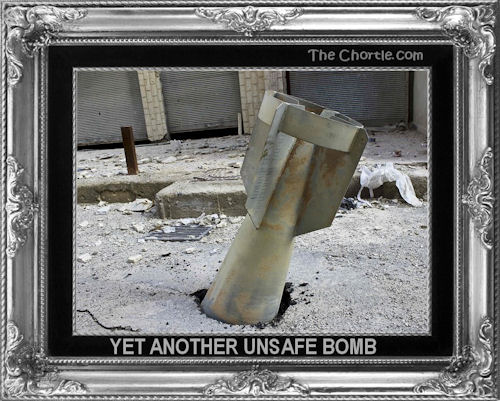 Yet another unsafe bomb