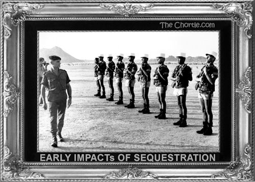 Early impacts of sequestration