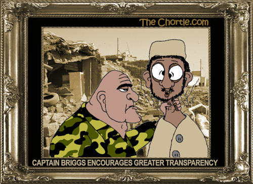 Captain Briggs encourages greater transparency