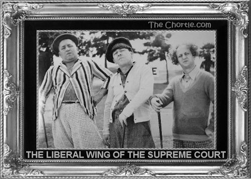 The liberal wing of the Supreme Court