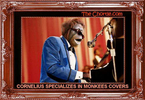 Cornelius specializes in Monkees covers