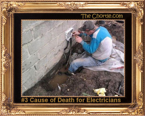 #3 Cause of death for electricians