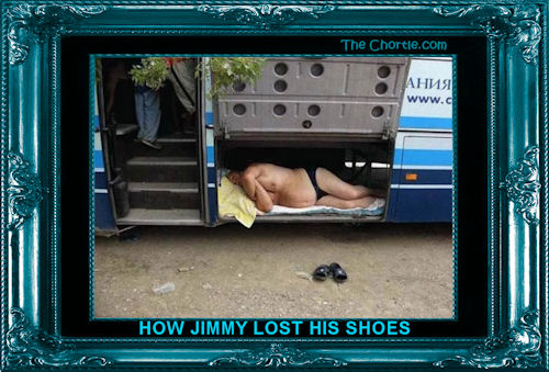 How Jimmy lost his shoes