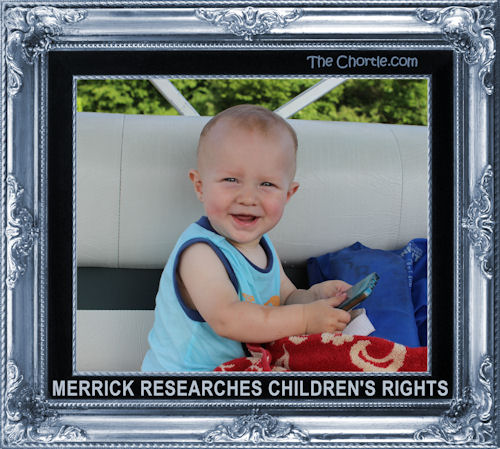 Merrick researches children's rights