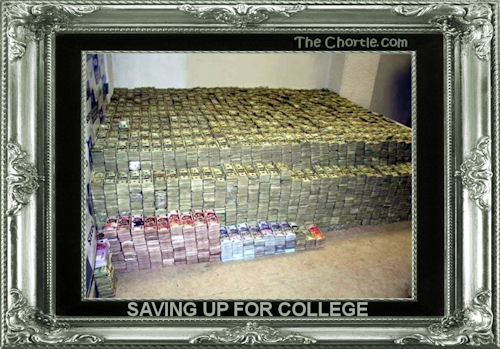 Saving up for college
